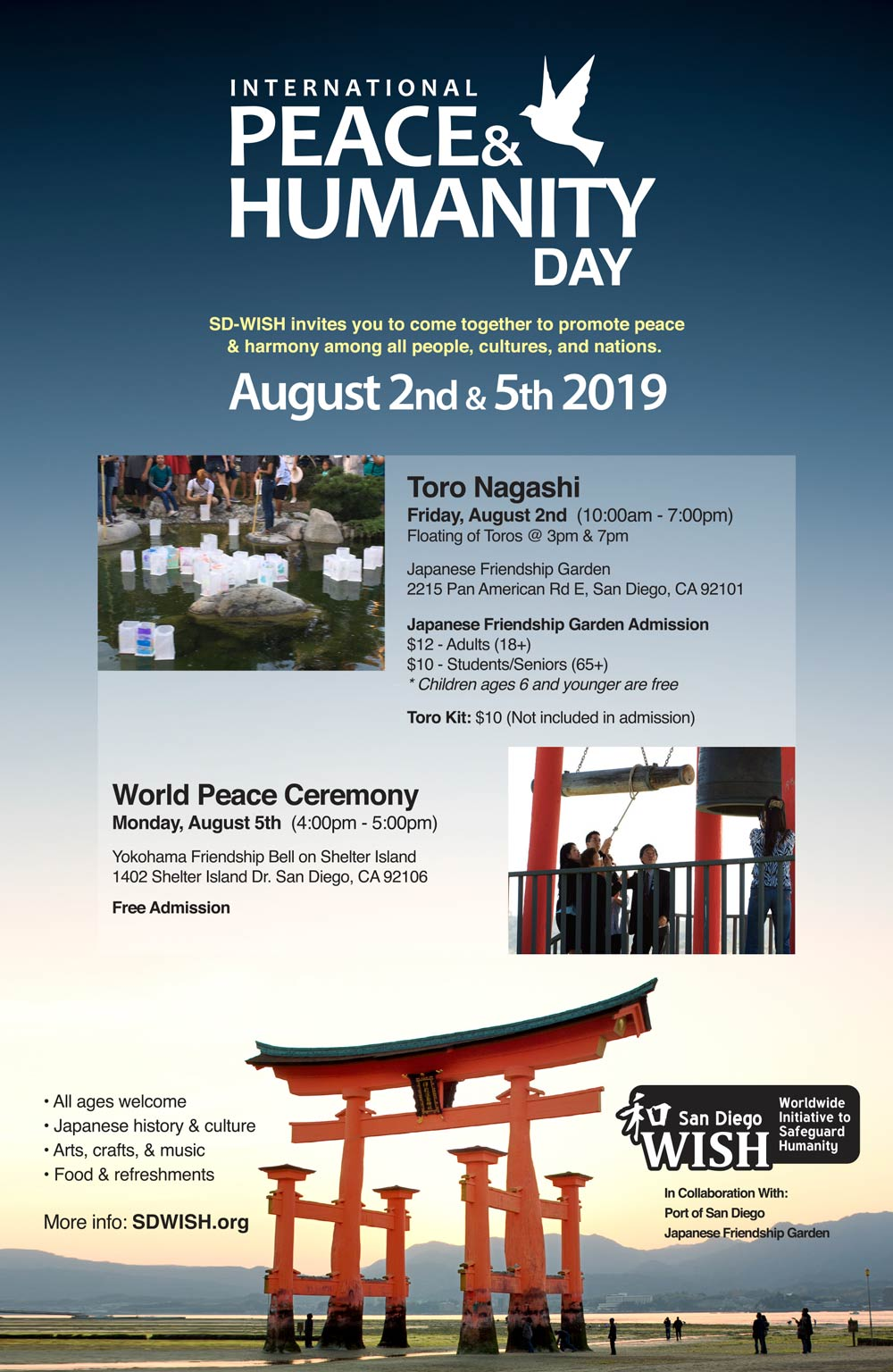 SD-WISH International Peace & Humanity Day 2019